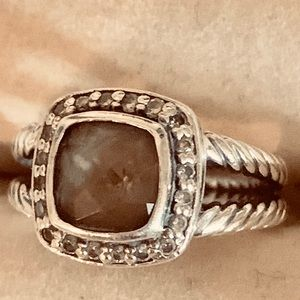 Jewelry - David Yurman Petite Albion Diamond/Smoky Quartz